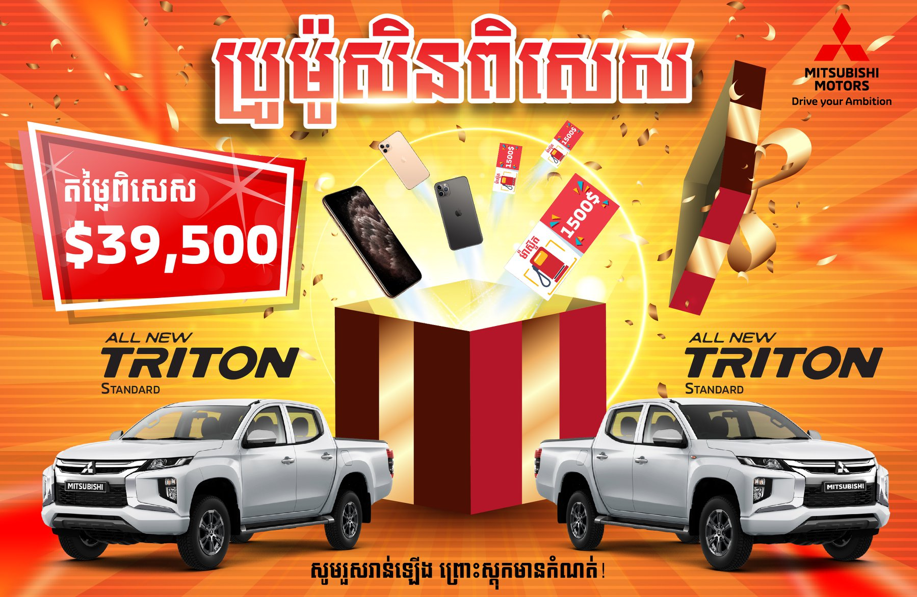 Special Promotion for Triton Standard
